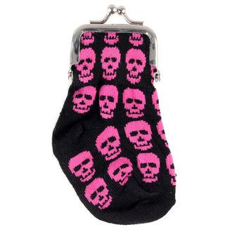peňaženka Lebka - Pink