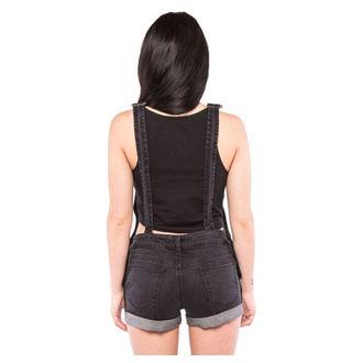 kraťasy dámske IRON FIST - Wishbone - Black, IRON FIST