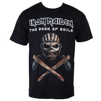 tričko pánske Iron Maiden - Axe - BLK - ROCK OFF, ROCK OFF, Iron Maiden