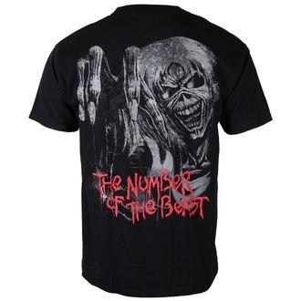 tričko pánske Iron Maiden - NOTB Jumbo - BLK - ROCK OFF, ROCK OFF, Iron Maiden