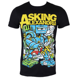 tričko pánske Asking Alexandria - Killer Robot - BLK - ROCK OFF, ROCK OFF, Asking Alexandria