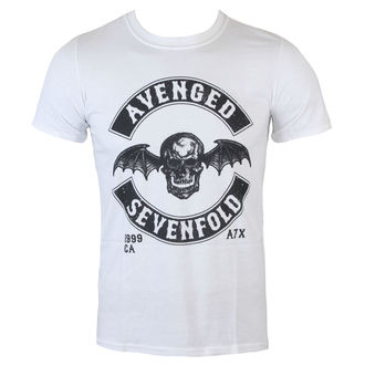 tričko pánske Avenged Sevenfold - Moto Seal - Wht - ROCK OFF, ROCK OFF, Avenged Sevenfold
