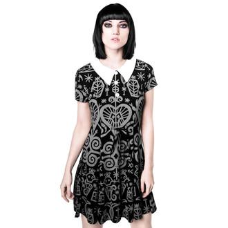 šaty dámske KILLSTAR - Voodoo Doll - Grey, KILLSTAR