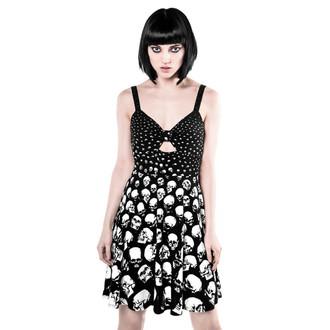 šaty dámske KILLSTAR - Sue Acidal - Black, KILLSTAR