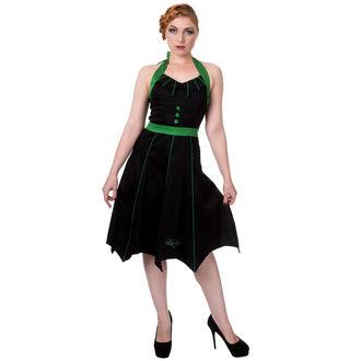 šaty dámske BANNED - DBN5018R/BLK/GRN