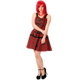 šaty dámske BANNED - DBN5063R/RED/TRT