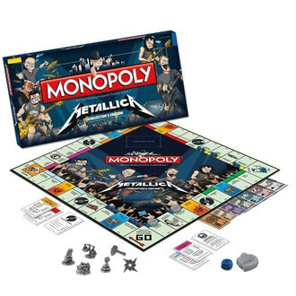 hra Metallica - Rock Band Monopoly - WM-MONO-METAL LICA