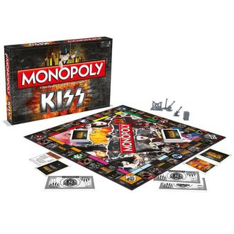 hra KISS - Rock Band Monopoly - WM-MONO-KISS