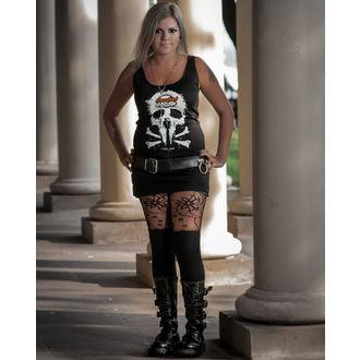 tielko dámske Metalshop - Black, METALSHOP
