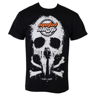 tričko pánske Metalshop - Black - MS015