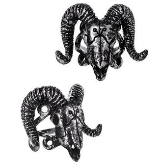 prsteň RESTYLE - Ram Skull Silver, RESTYLE
