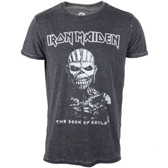 tričko pánske Iron Maiden - Book Of Souls - Burnout Grey - ROCK OFF, ROCK OFF, Iron Maiden