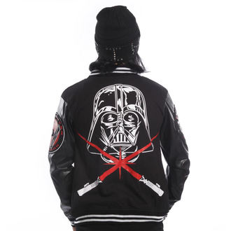 mikina pánska DISNEY - STAR WARS - Vader Varcity - Black, DISNEY, Star Wars