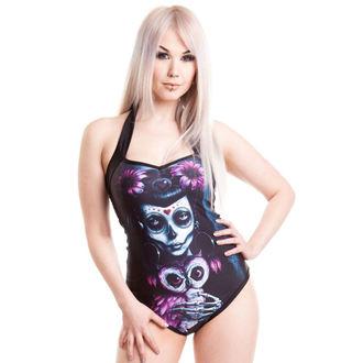 plavky dámske POIZEN INDUSTRIES - Muerte Owl - Black