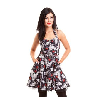 šaty dámske CUPCAKE CULT - Hunt - Black - POI096