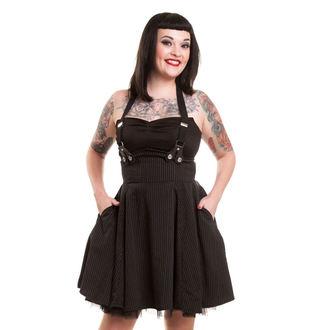 šaty dámske ROCKABELLA - Lilith - Black - POI097