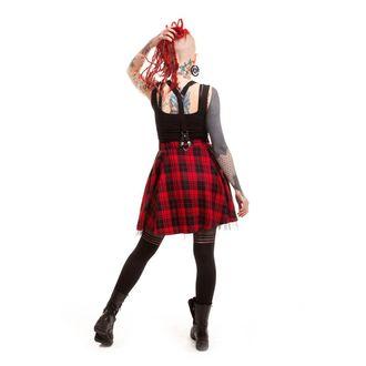 sukňa dámska HEARTLESS - Lucille - Red, HEARTLESS