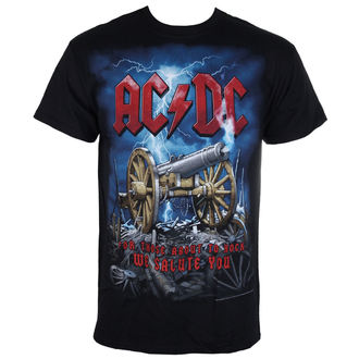 tričko pánske AC/DC - Cannon Carnage - LIQUID BLUE, LIQUID BLUE, AC-DC