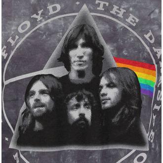 tričko pánske Pink Floyd - Dark Side Group Tie-Dye - LIQUID BLUE, LIQUID BLUE, Pink Floyd