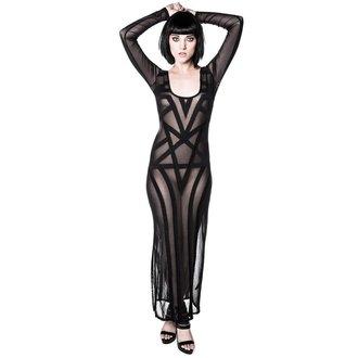 šaty dámske KILLSTAR - Zandra Mesh - Black, KILLSTAR