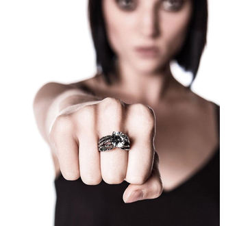 prsteň KILLSTAR - Soulkeeper Engagement - Silver, KILLSTAR