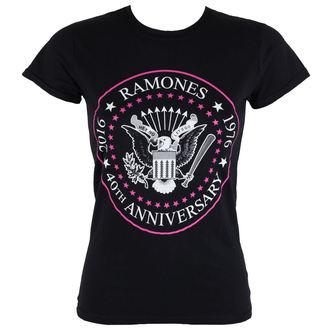 tričko dámske Ramones - 40th Anniversarry - ROCK OFF, ROCK OFF, Ramones