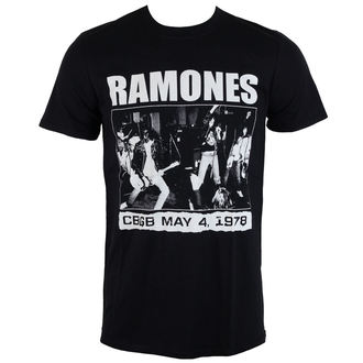 tričko pánske Ramones - KLUBE CBGB 1978 - ROCK OFF, ROCK OFF, Ramones