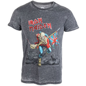 tričko pánske Iron Maiden - Trooper - ROCK OFF, ROCK OFF, Iron Maiden