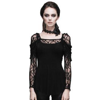 tričko dámske s dlhým rukávom DEVIL FASHION - Gothic Dhalia - DVTT011