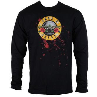 tričko pánske s dlhým rukávom Guns N' Roses - Bullet - ROCK OFF, ROCK OFF, Guns N' Roses
