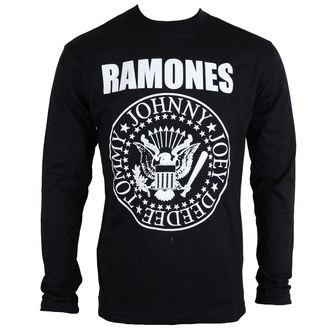 tričko pánske s dlhým rukávom Ramones - Seal - ROCK OFF - RALST01MB