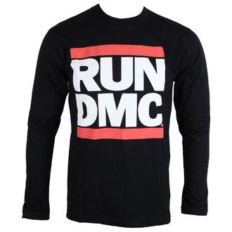 tričko pánske s dlhým rukávom Beh-D. M. C. - Logo - ROCK OFF, ROCK OFF, Run-D.M.C.