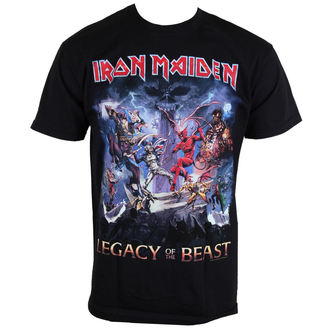 tričko pánske Iron Maiden - Legacy Of The Beast - ROCK OFF, ROCK OFF, Iron Maiden