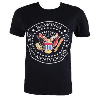 tričko pánske Ramones - 40th Anniversarry Seal - ROCK OFF