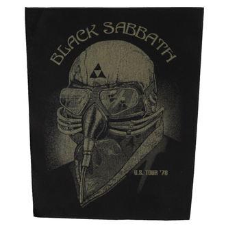 nášivka BLACK V SOBOTU - US TOUR '78 - RAZAMATAZ, RAZAMATAZ, Black Sabbath