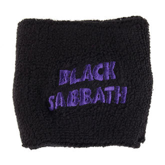 potítko BLACK V SOBOTU - PURPLE ZVLNENÝ LOGO - RAZAMATAZ, RAZAMATAZ, Black Sabbath