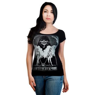 tričko dámske TOO FAST - Lola - Zombie Tarot