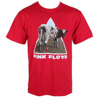 tričko pánske Pink Floyd - Atom Heart - Red - LOW FREQUENCY, LOW FREQUENCY, Pink Floyd