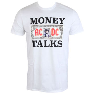 tričko pánske AC/DC - Money Talks - LOW FREQUENCY - White, LOW FREQUENCY, AC-DC