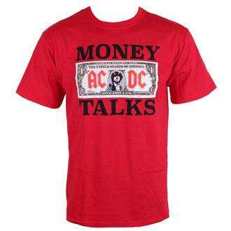 tričko pánske AC/DC - Money Talks - LOW FREQUENCY - Red, LOW FREQUENCY, AC-DC