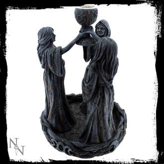 dekorácia (svietnik) Mother Maiden & Crone Spätnému toku - NENOW, Nemesis now