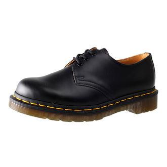 topánky Dr. Martens - 3 dierkové - Black Smooth, Dr. Martens