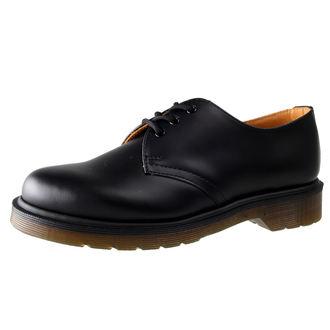 topánky Dr. Martens - 3 dierkové - PW Black Smooth, Dr. Martens