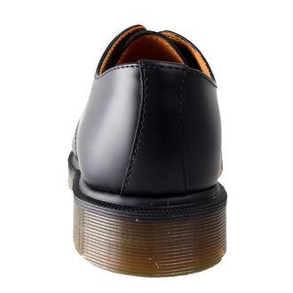 topánky Dr. Martens - 3 dierkové - PW Black Smooth - 1461