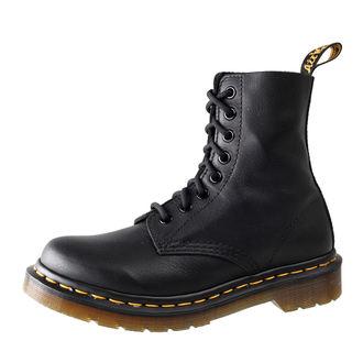 topánky Dr. Martens - 8 dierkové - Pascal Black Virginie, Dr. Martens