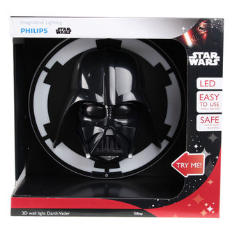 nástenná lampa Star Wars - Darth Vader - BLK
