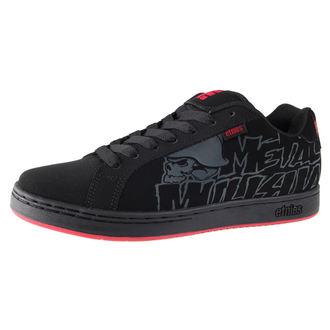 topánky pánske ETNIES - Metal Mulisha Fader - BLACK / BLACK / RED, METAL MULISHA