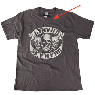 tričko pánske Lynyrd Skynyrd - Biker Patch - LIVE NATION - POŠKODENÉ, LIVE NATION, Lynyrd Skynyrd