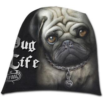 čiapka SPIRAL - Pug Life - Black, SPIRAL