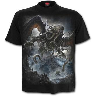 tričko pánske SPIRAL - Cthulhu - Black